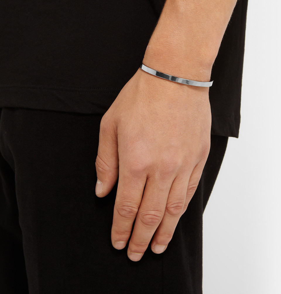 Le Gramme Le 7 Brushed Sterling Silver Cuff - Silver szOmBIGEPU