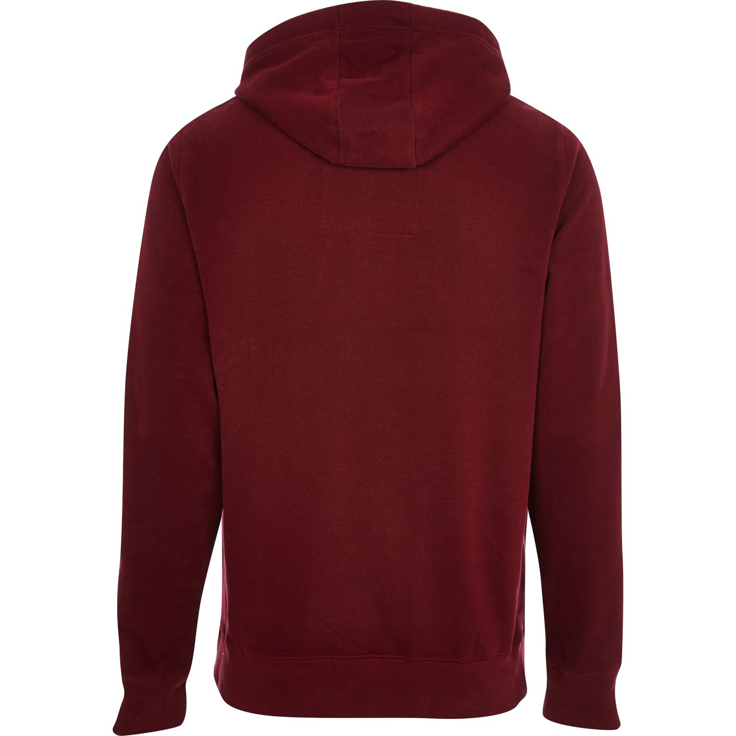 c9bbfa23a River Island Dark Red Tokyo Laundry University Hoodie in Red for Men ...