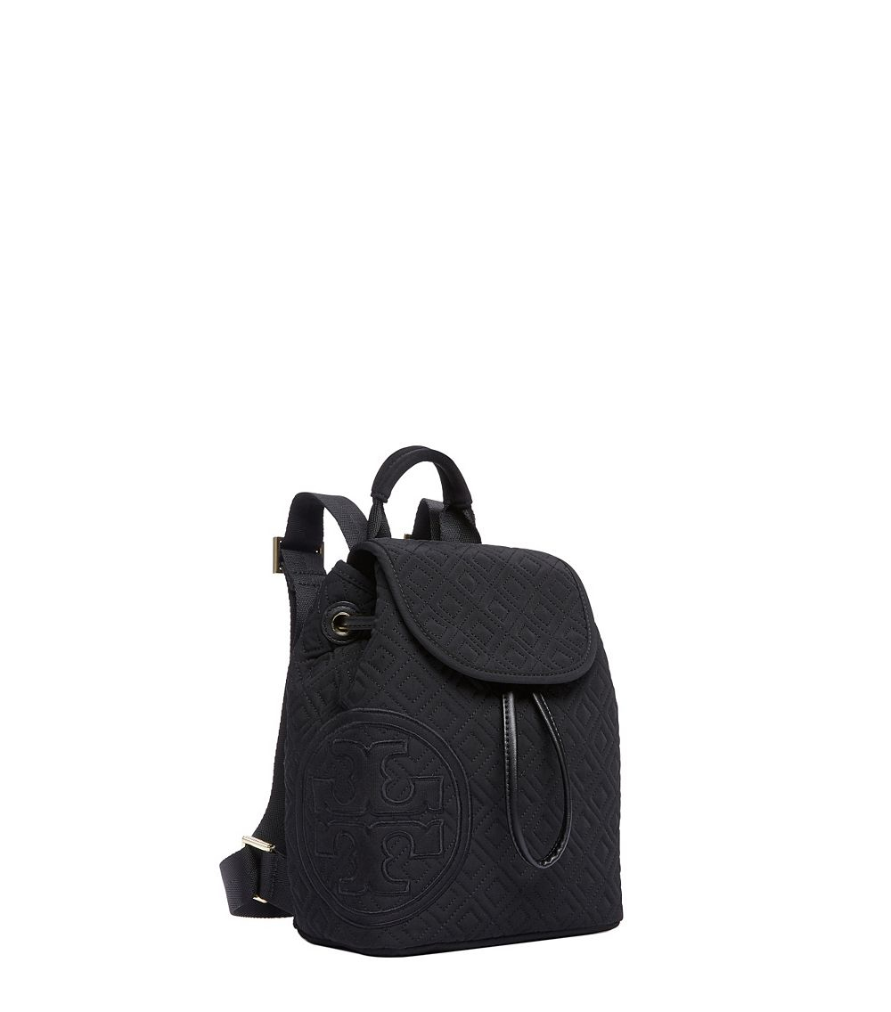 Tory Burch Penn Quilted Mini Backpack In Black Lyst