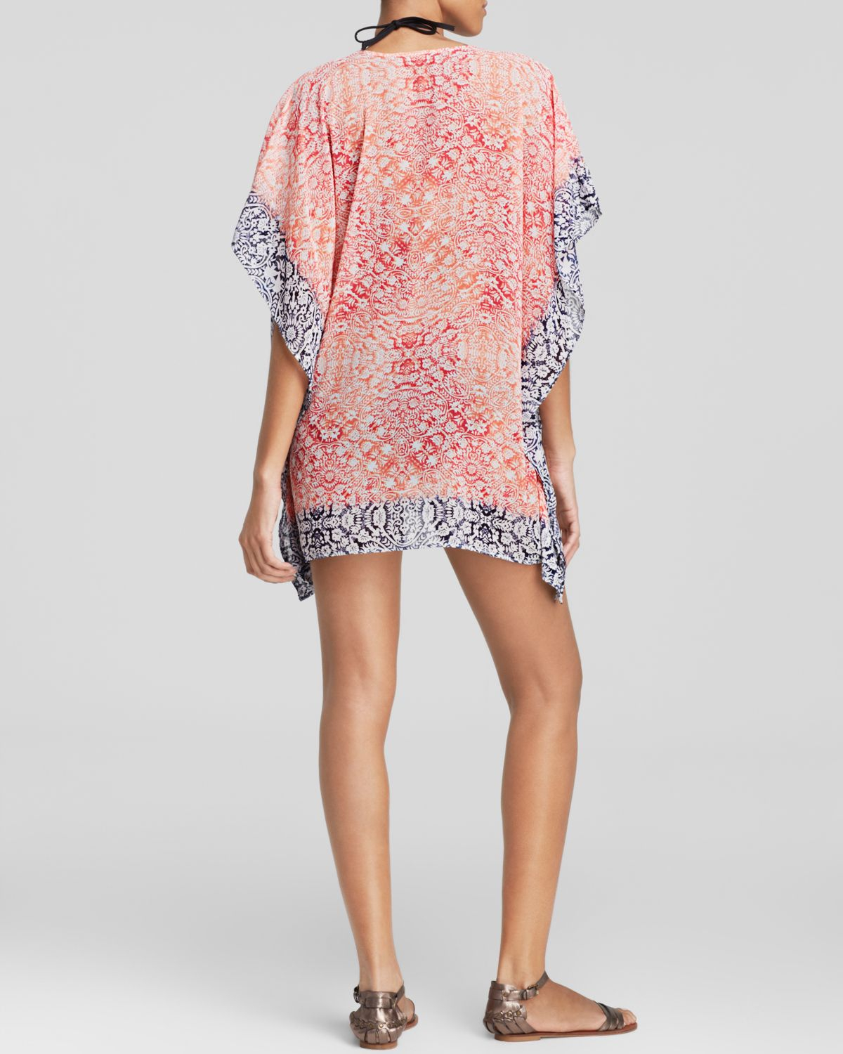 a030d3bfba Lyst - Tommy Bahama Coral Medallion Tunic Swim Cover Up in Pink