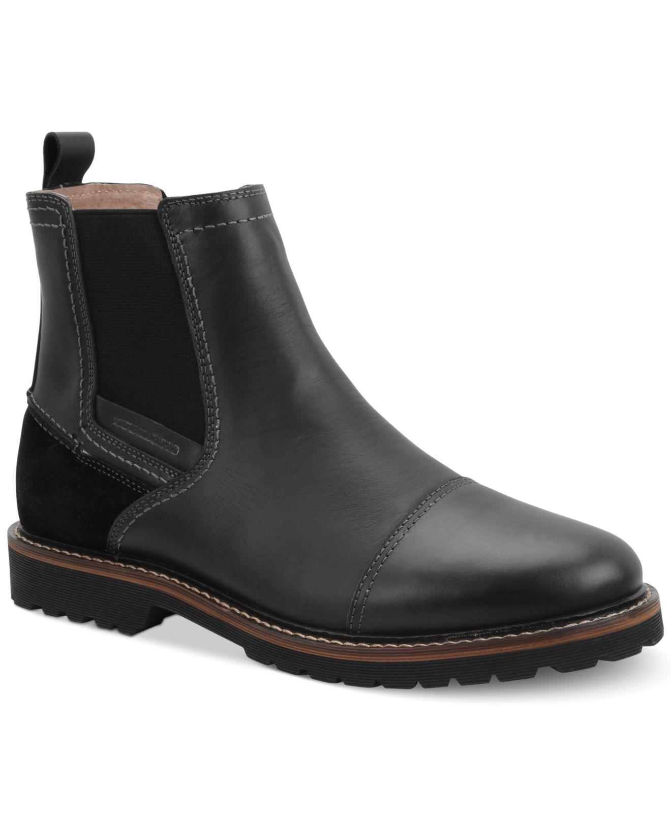 Black Chelsea Boots For Men Images Plain Raglan Tee Price