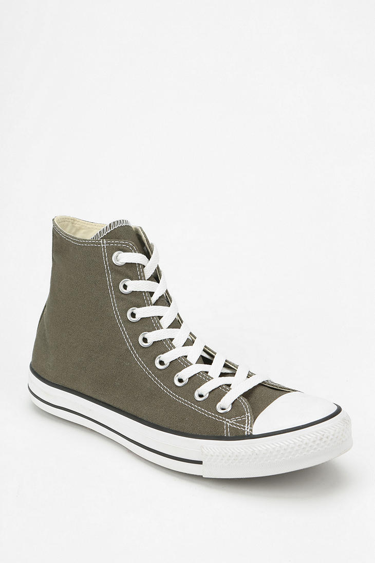 Converse Chuck Taylor All Star Womens Hightop Sneaker in Olive ...