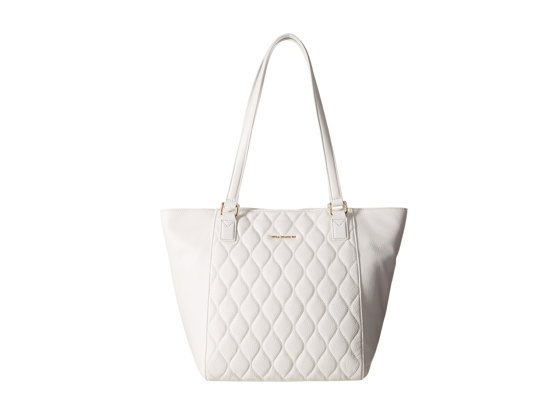 4a27b5f178c1 Lyst - Vera Bradley Quilted Small Ella Tote in White