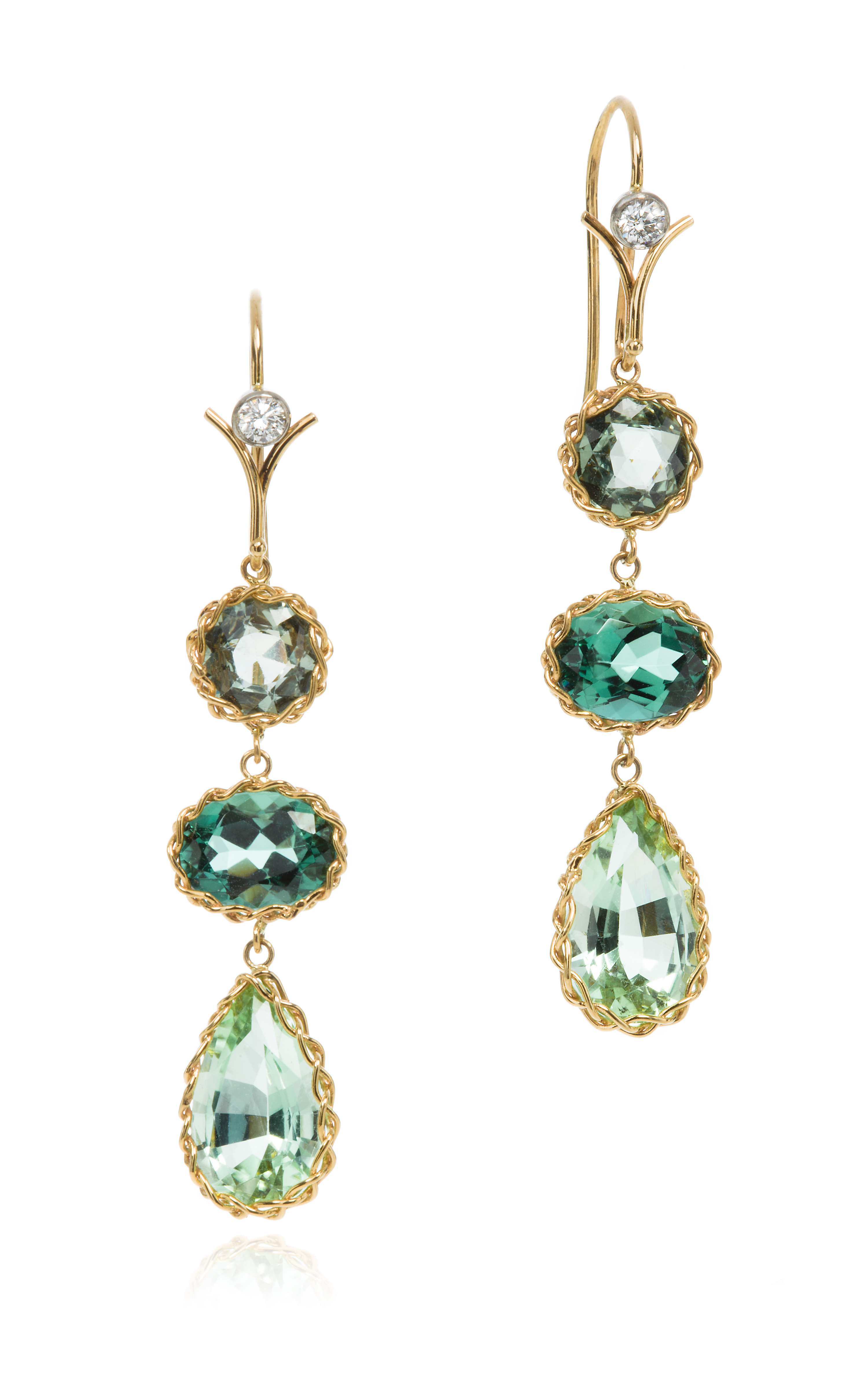 Lyst Dean Harris Handmade Green Chrome Mint Sapphire