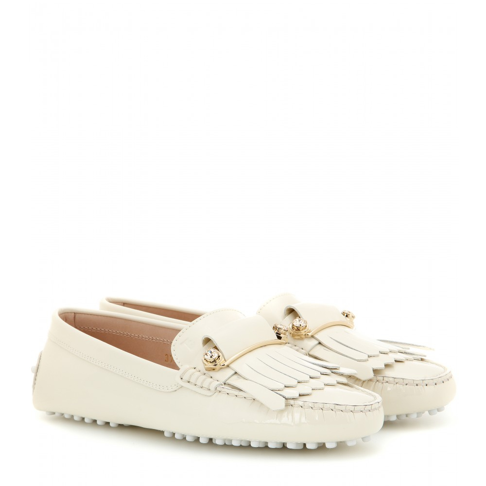 fringed mocassin loafers - Blue Tod's 72Xkn