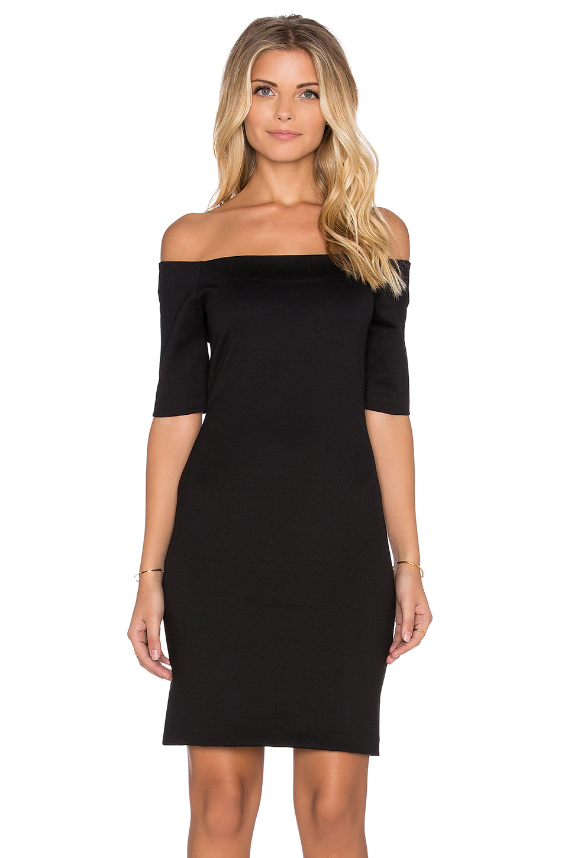 Lyst Amanda Uprichard Electra Mini Dress In Black