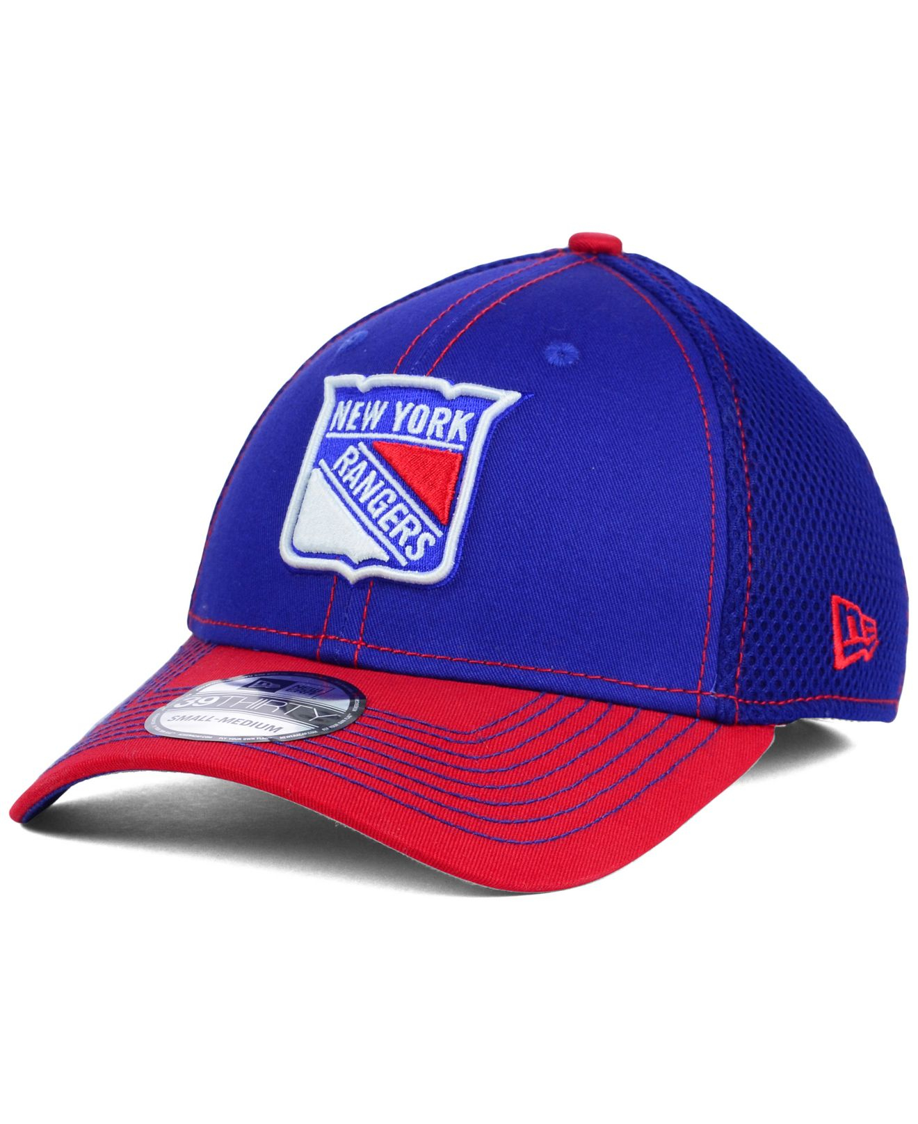 detailed look 68726 df95d ... cheapest lyst ktz new york rangers 2 tone neo 39thirty cap in blue for  men c3c5c