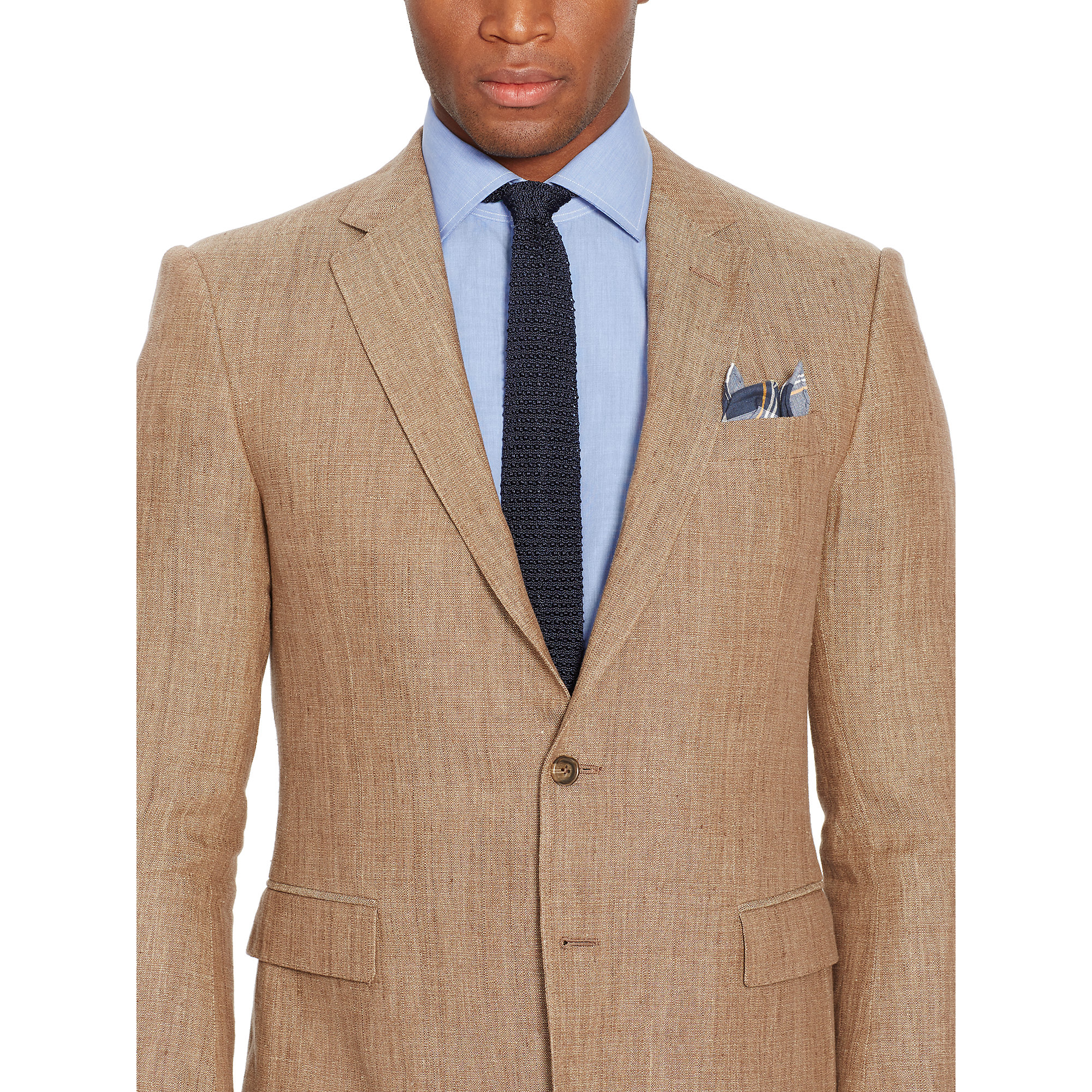 Polo ralph lauren Connery Linen Sport Coat in Natural for Men   Lyst