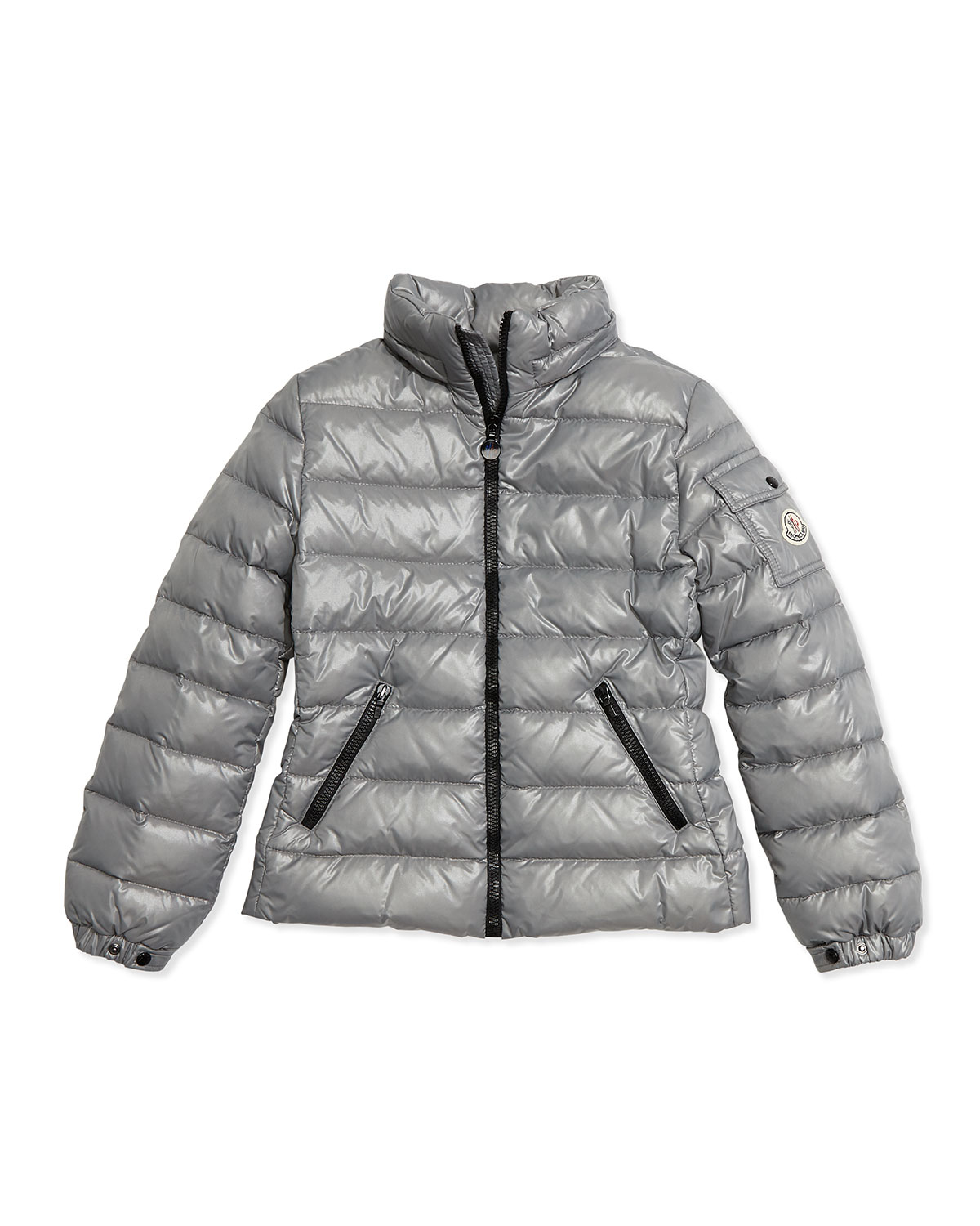 8cb7e455185c Lyst - Moncler Bady Quilted Jacket in Gray