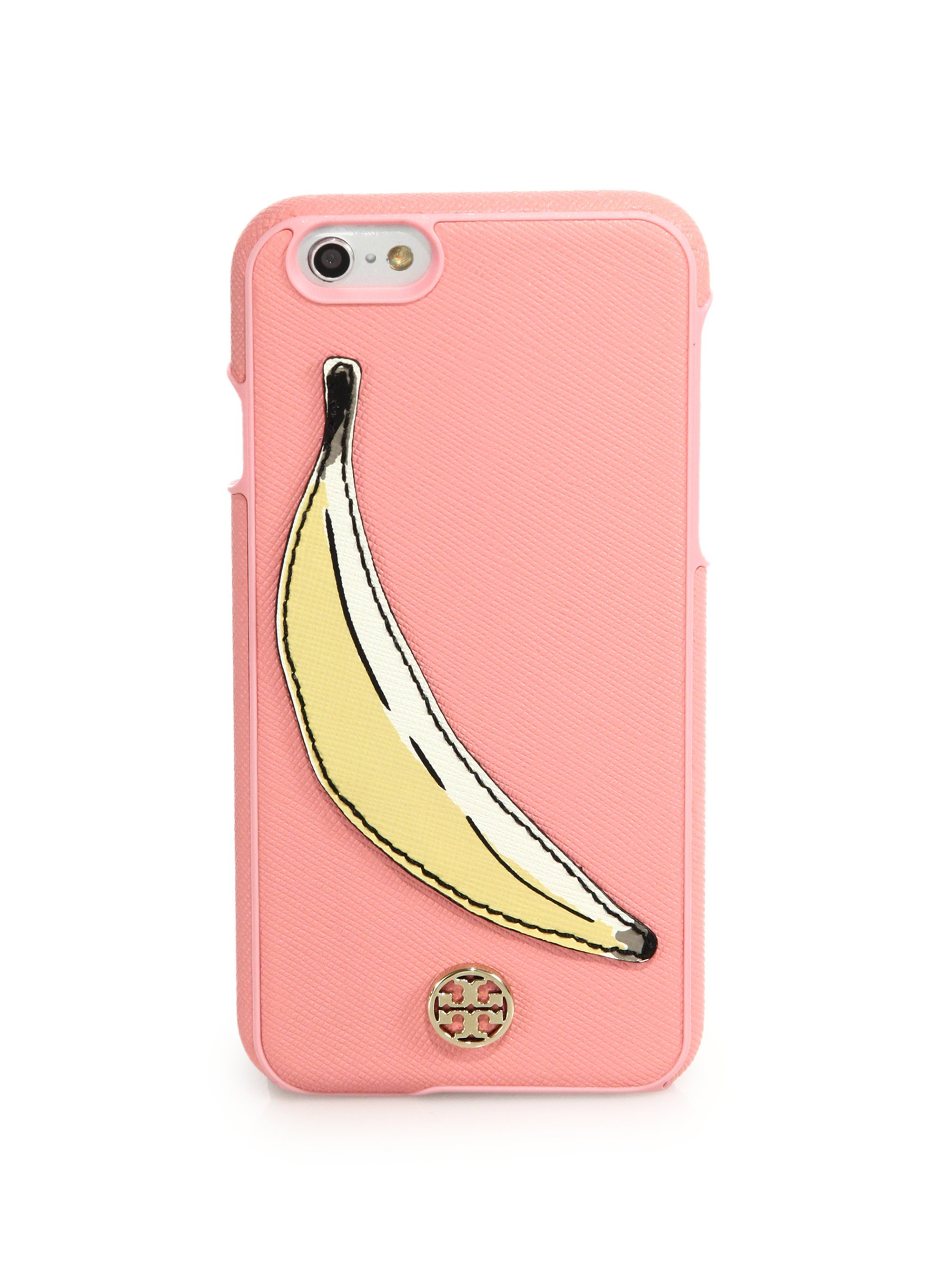 tory burch iphone case burch banana saffiano leather iphone 6 in pink 16280