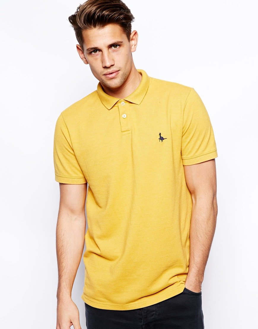 49882433fa8 Jack Wills Aldgrove Polo Shirt in Yellow for Men - Lyst