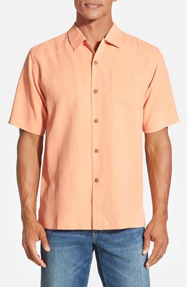 Lyst Tommy Bahama 39 Bedarra 39 Jacquard Silk Camp Shirt In