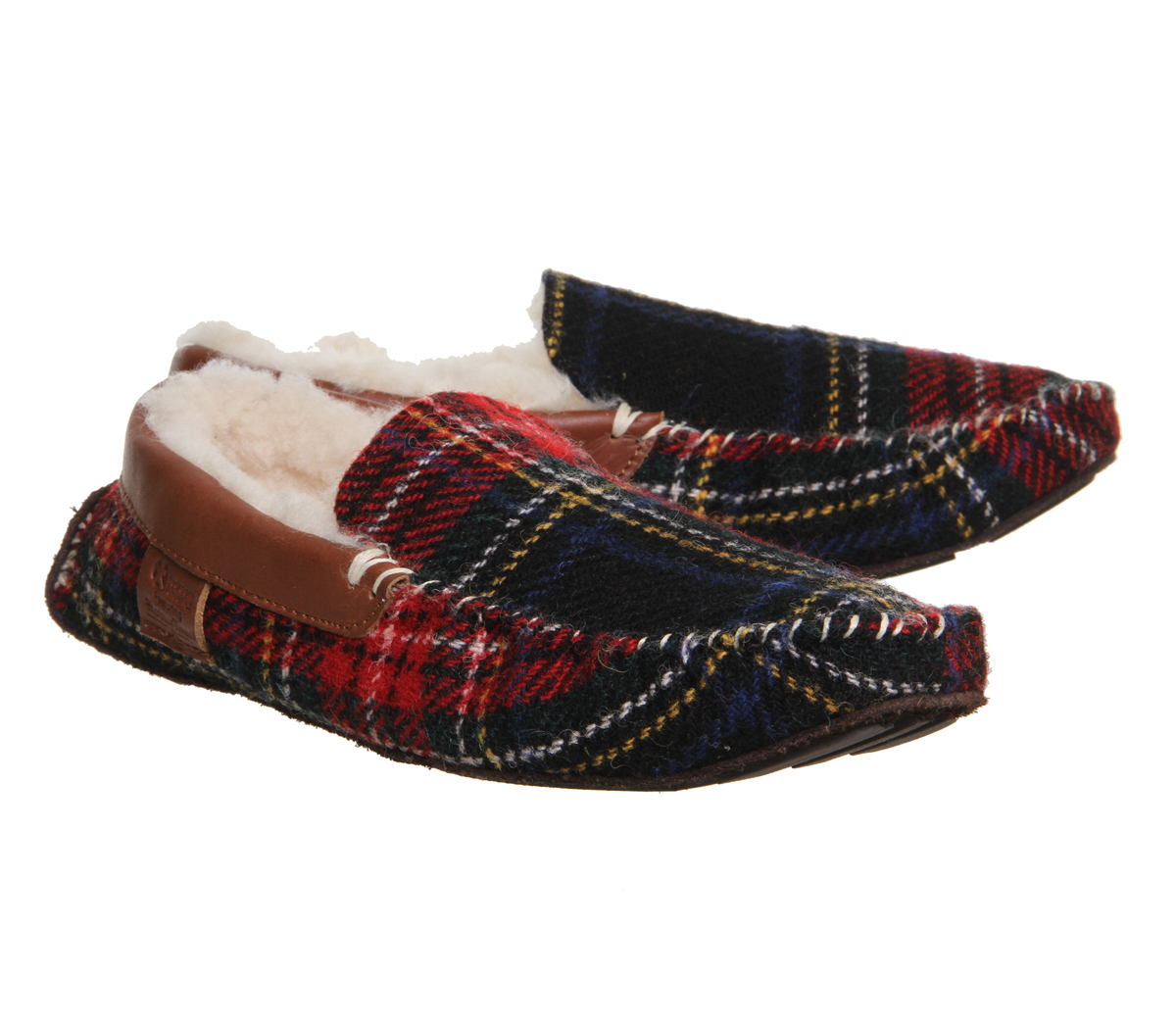 Bedroom Athletics Harry Slipper In Red For Men