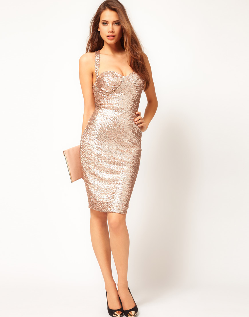 Sexy sequin dresses