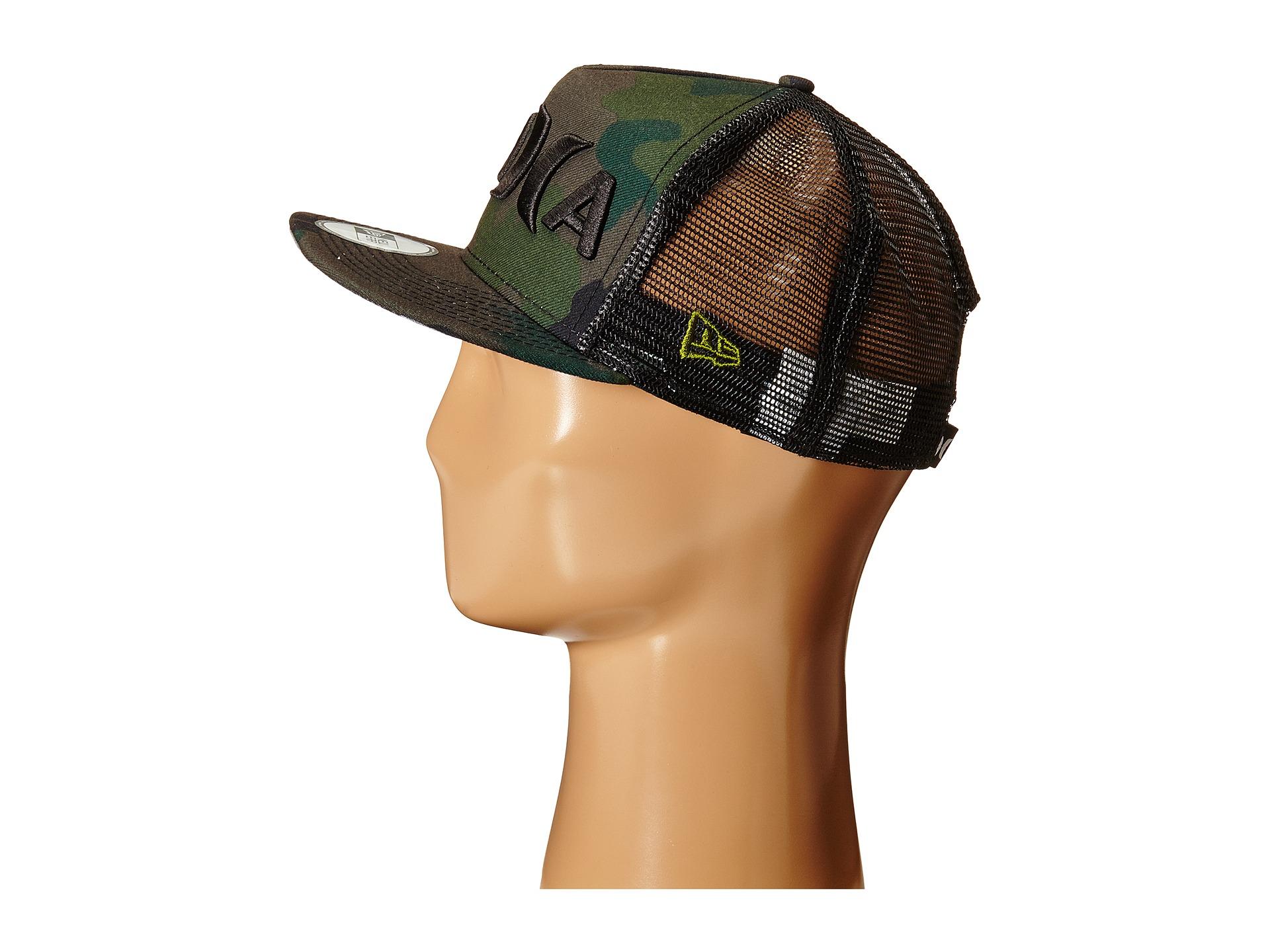 designer fashion e04b0 f4bbe ... clearance lyst hurley jjf aloha hat in green for men 64b30 98978