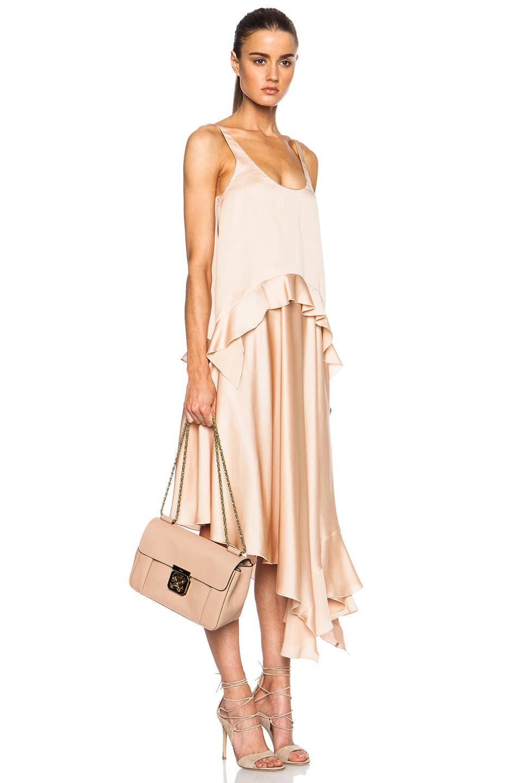 chloe elsie mini shoulder bag - Chlo�� Medium Elsie Shoulder Bag in Beige (Biscotti Beige) | Lyst