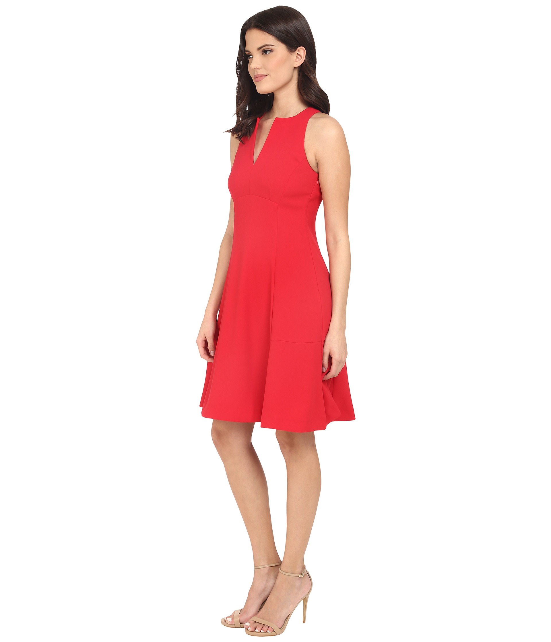 Nanette lepore Skylight Dress in Red | Lyst