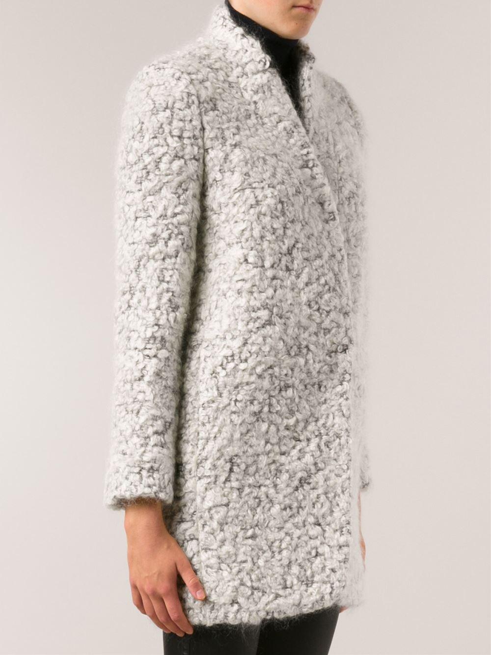River Island Long Grey Coat