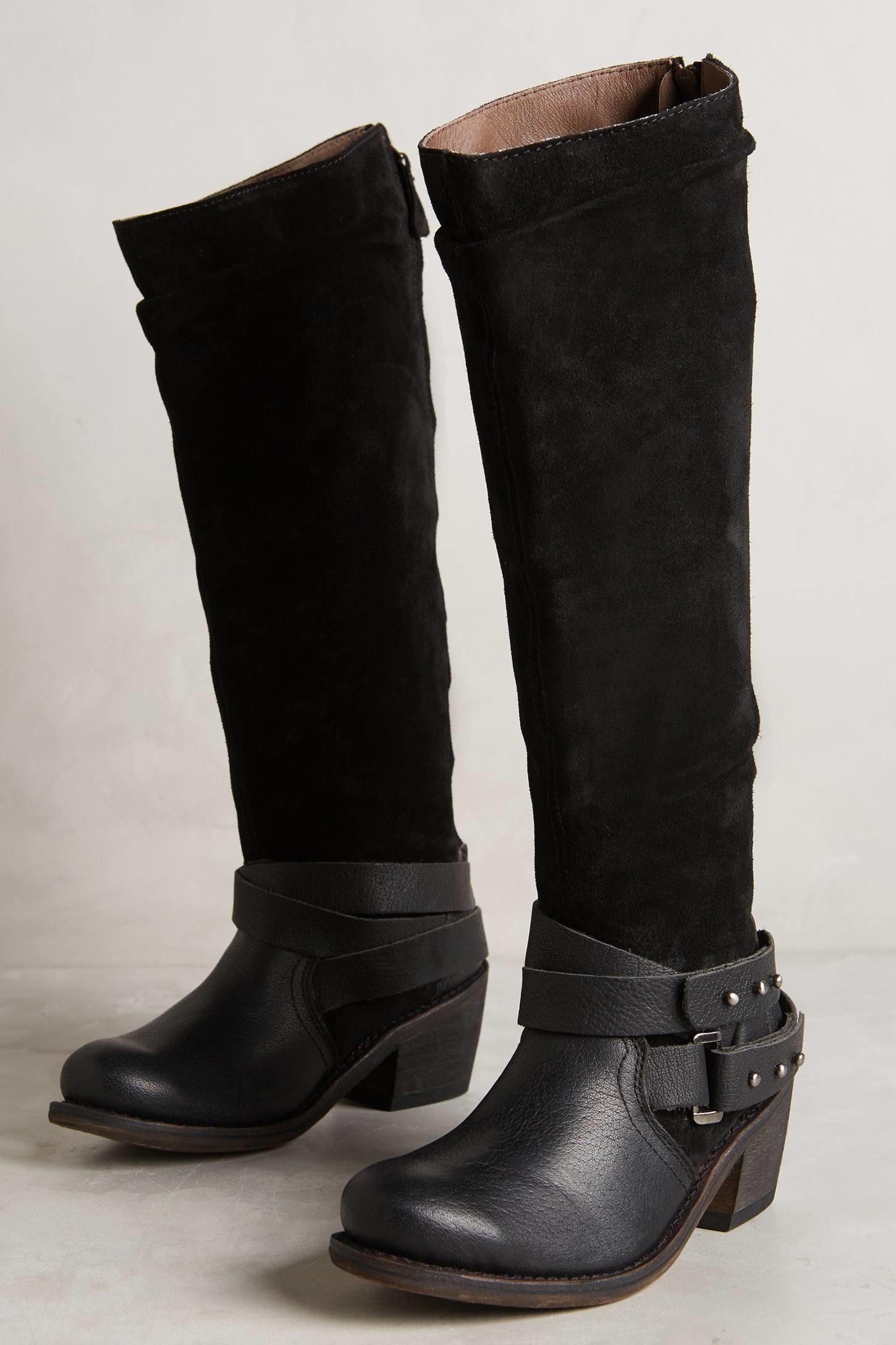 gee wawa nancy boots in black lyst
