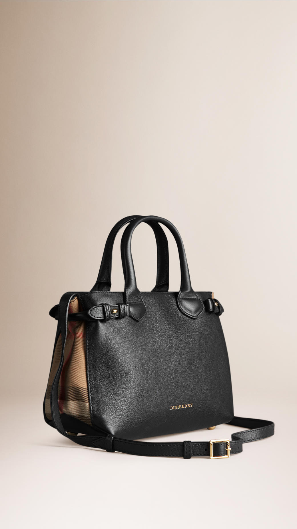 00777daf133e Keeping Burberry Small Banner Bag  The medium banner in leather and ...