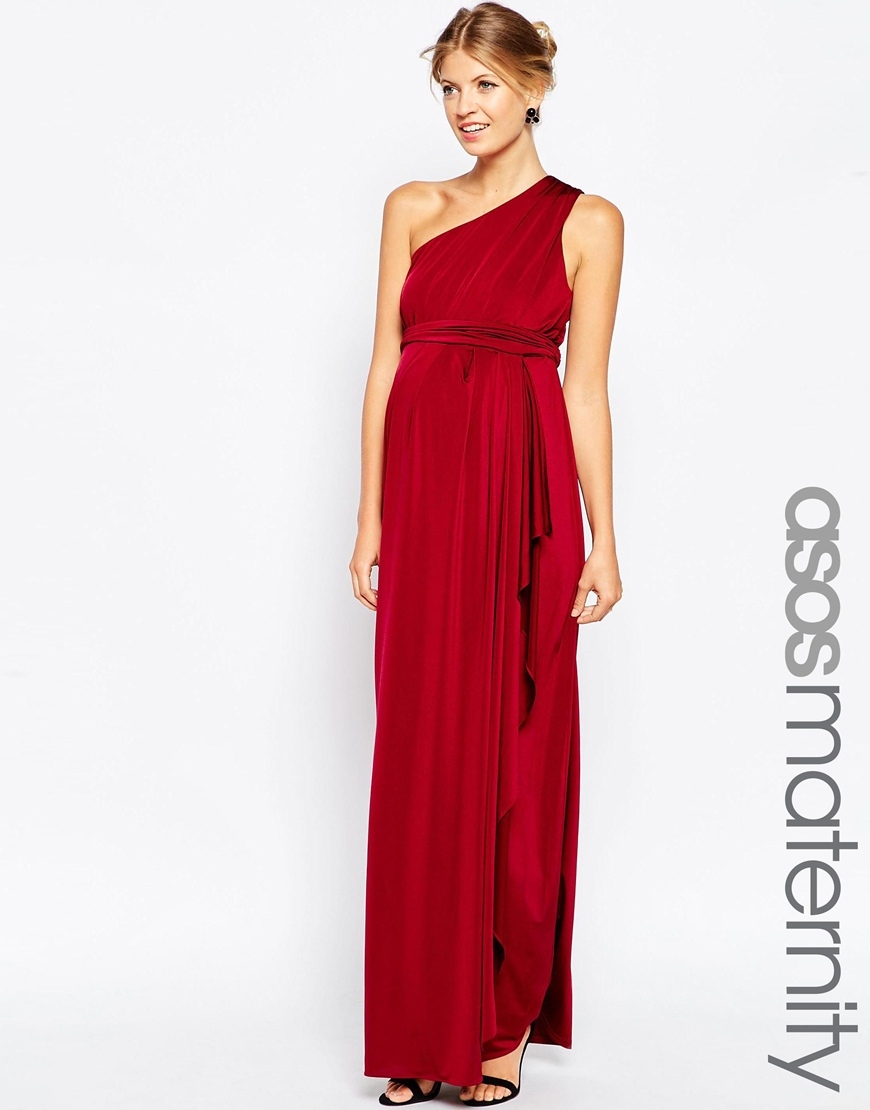 Red slinky maxi dress dress ideas for Maxi maternity dresses for weddings