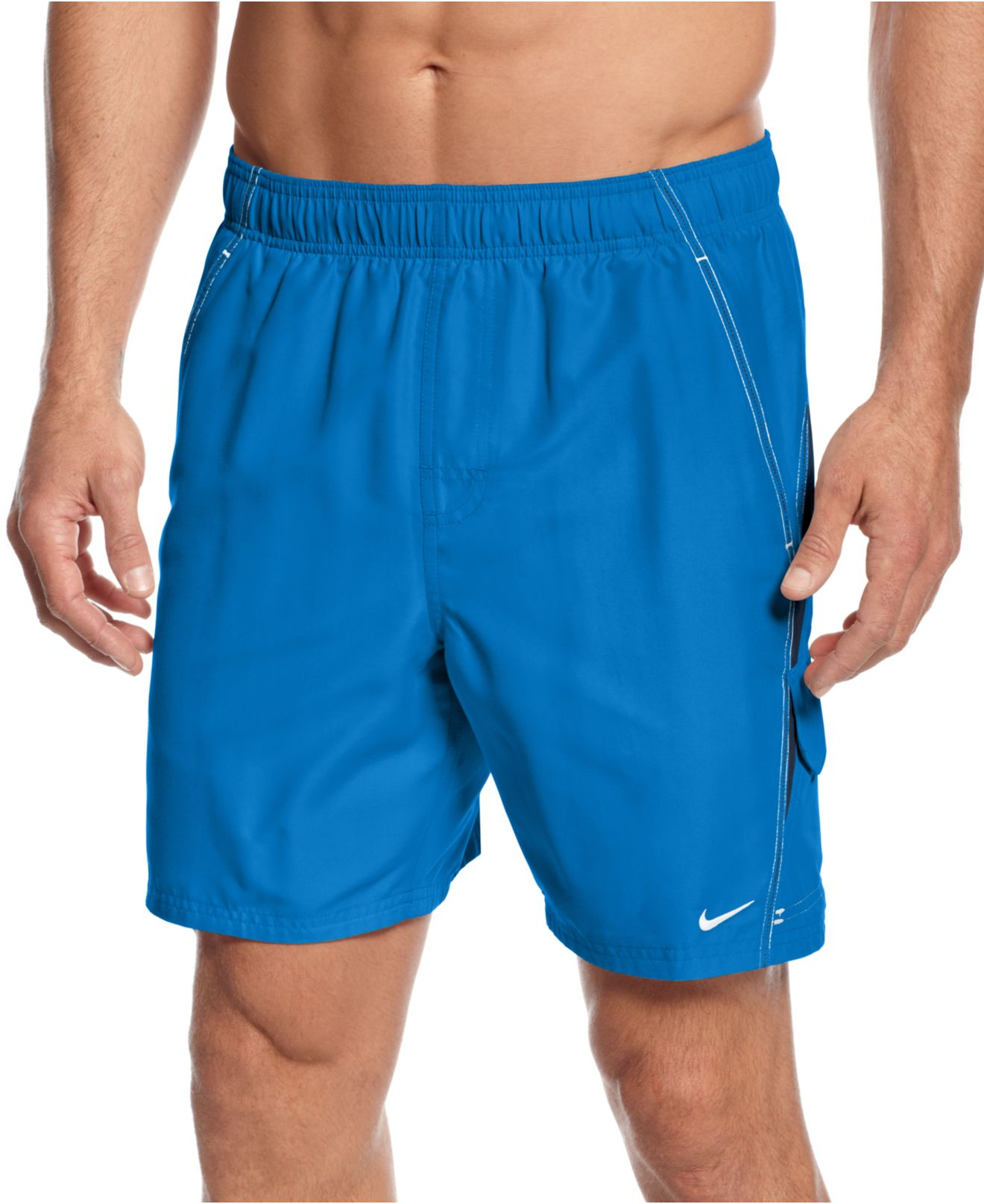 mens nike volley swim trunks