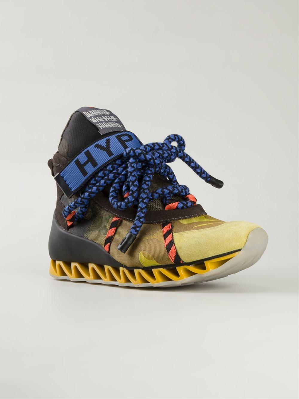 Lyst Top voor sneakers Bernhard Hyper geel in heren Willhelm High 4x7prw4S