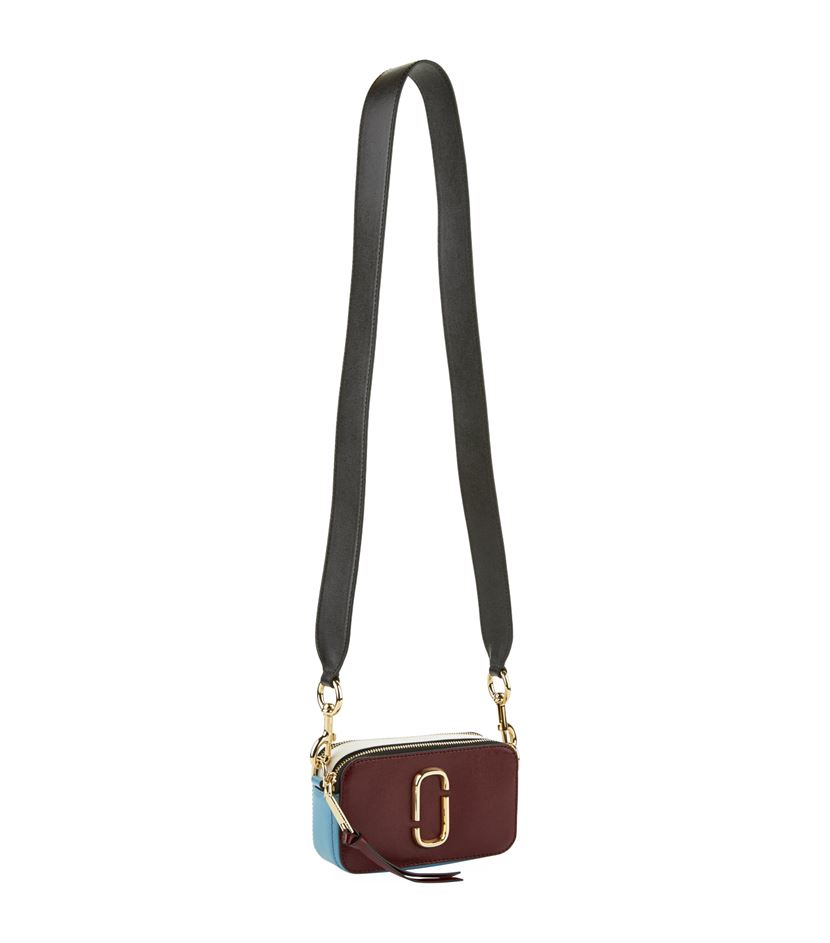 Marc Jacobs Leather Small Snapshot Camera Cross Body Bag