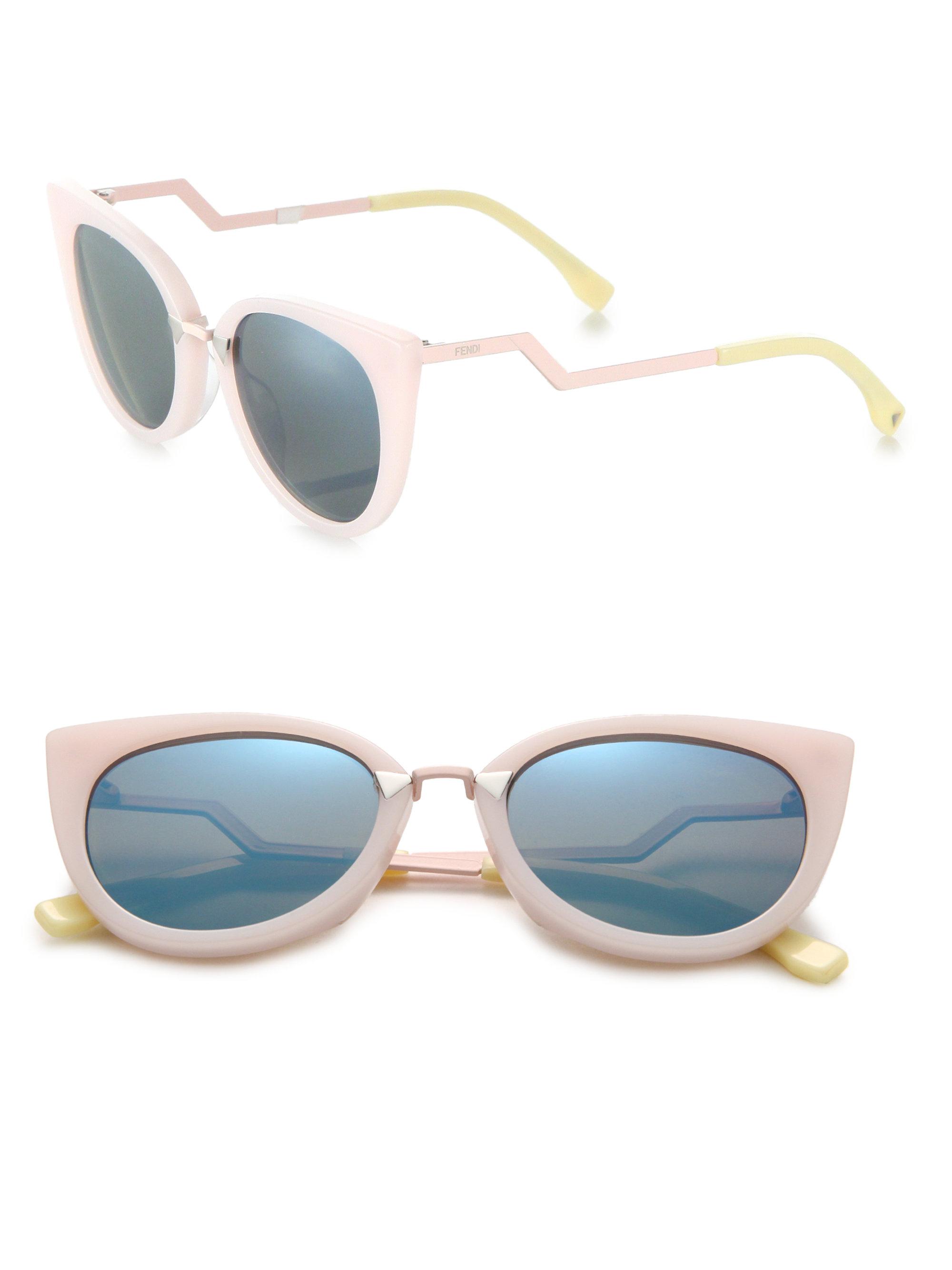 26d389260b95 Fendi Pink Cat Eye Sunglasses - Ontario Active School Travel