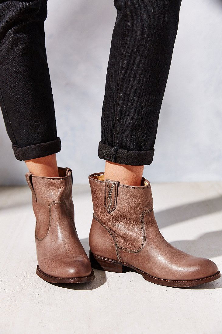 Frye Jamie Stitch Short Ankle Boot in