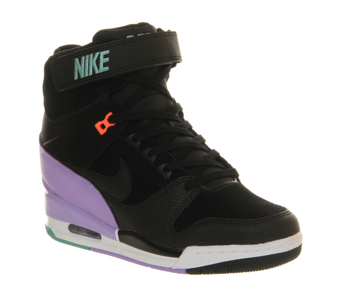 cortador desbloquear Infectar  Nike Air Revolution Sky Hi in Black - Lyst