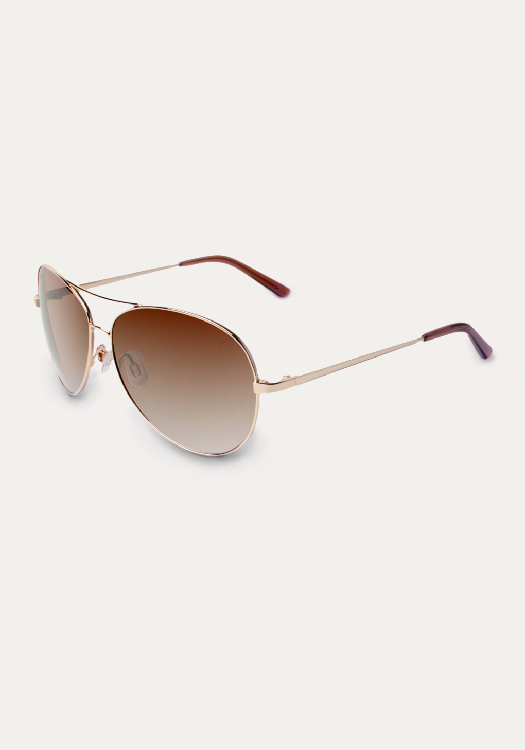 7142acce7e6b Bebe Ignitor Aviator Sunglasses in Metallic - Lyst