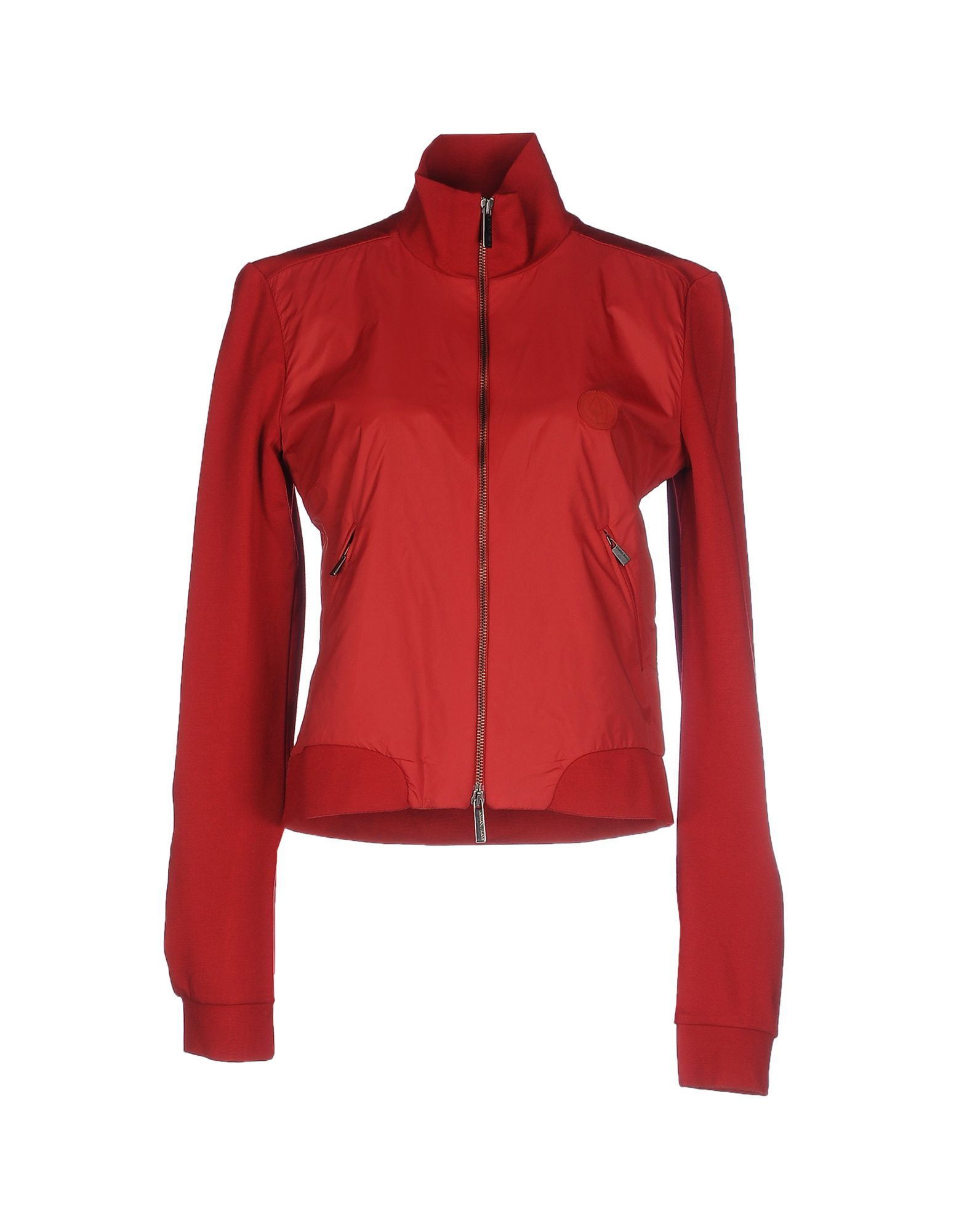 Lyst Armani Jeans Jacket In Red
