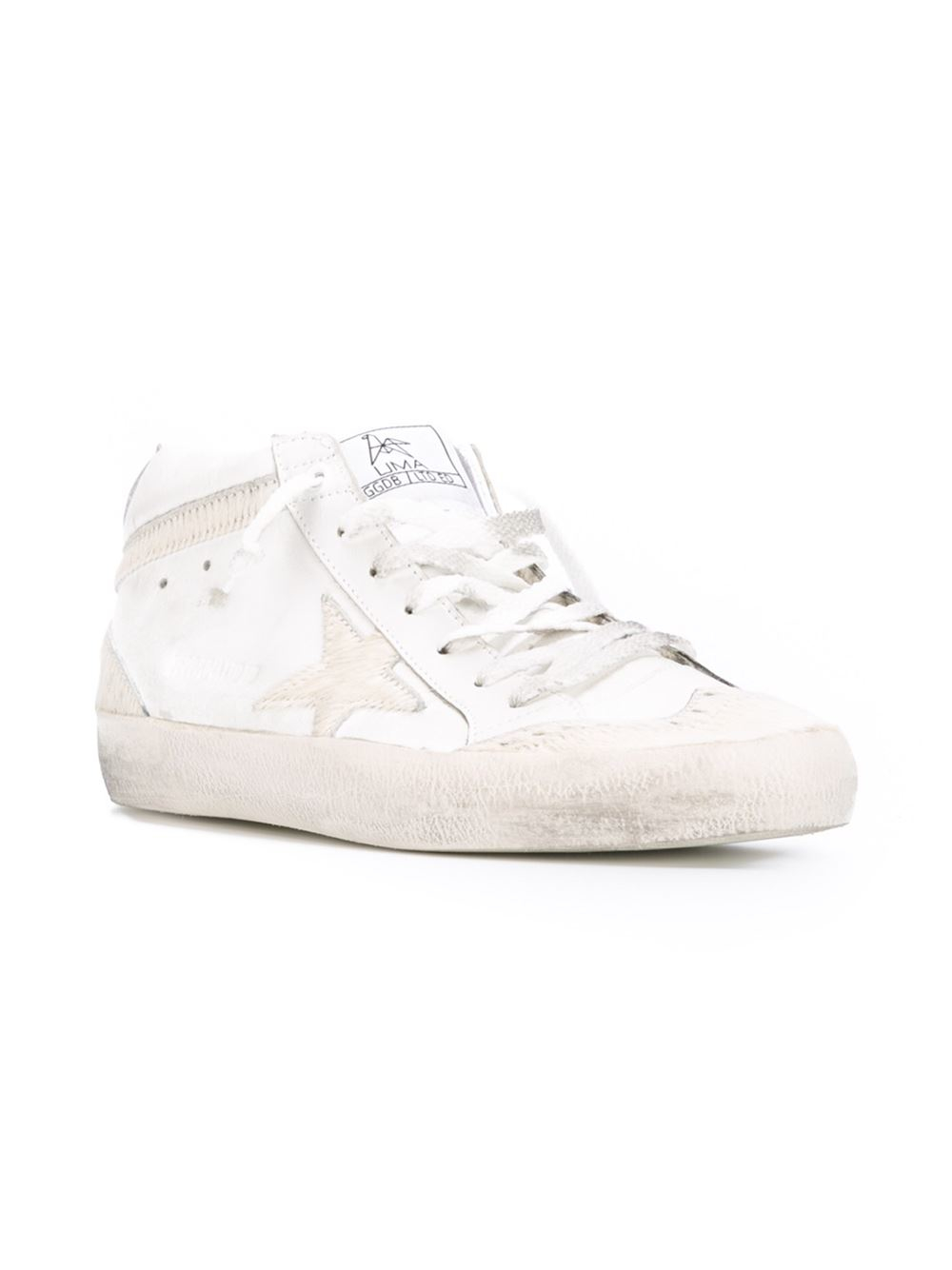 Golden Goose Deluxe Brand Limited Edition 'mid Star' Sneakers in Natural