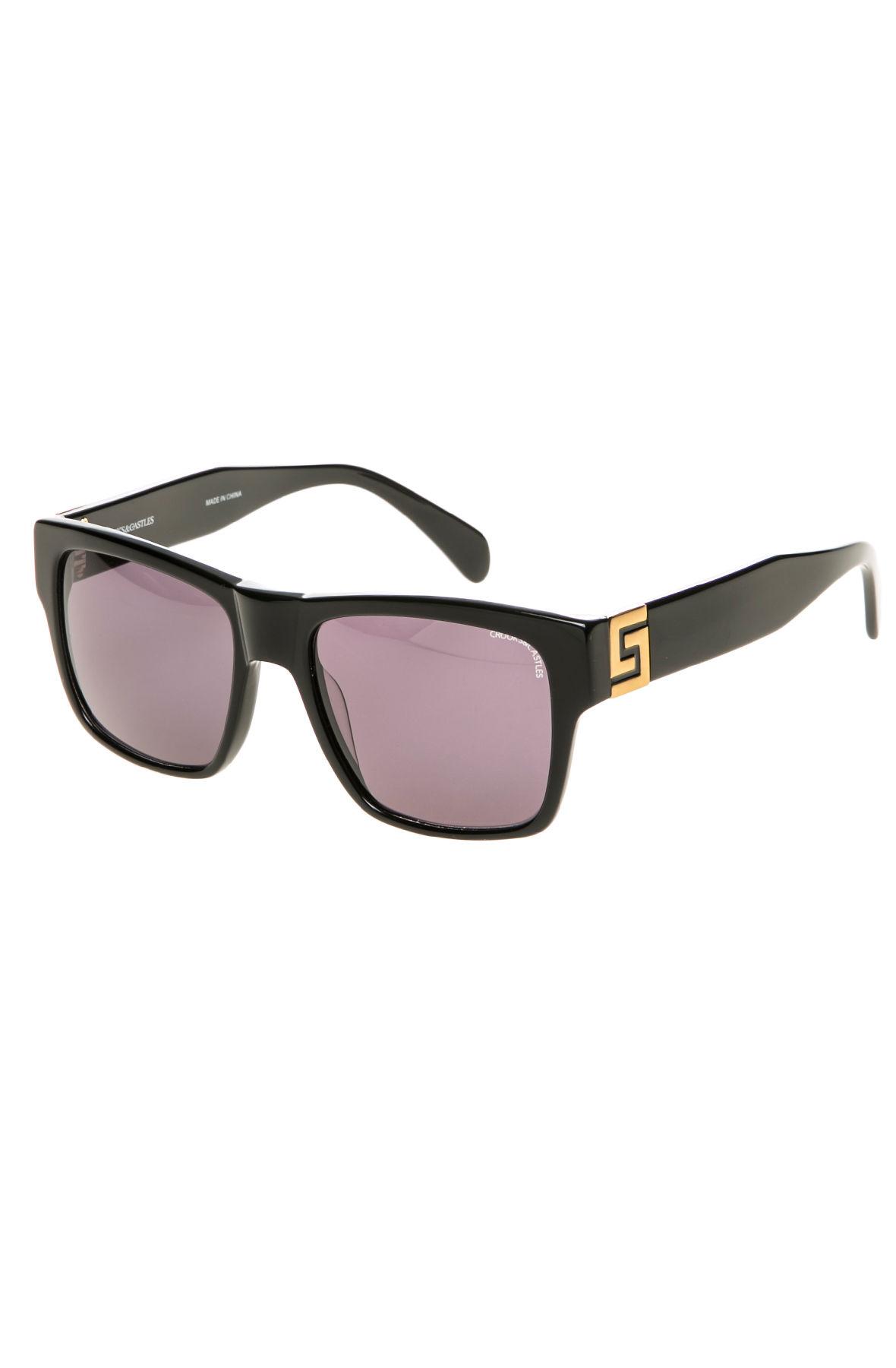 76409608cc774 Lyst - Crooks And Castles The Violento Noir Sunglasses in Black for Men
