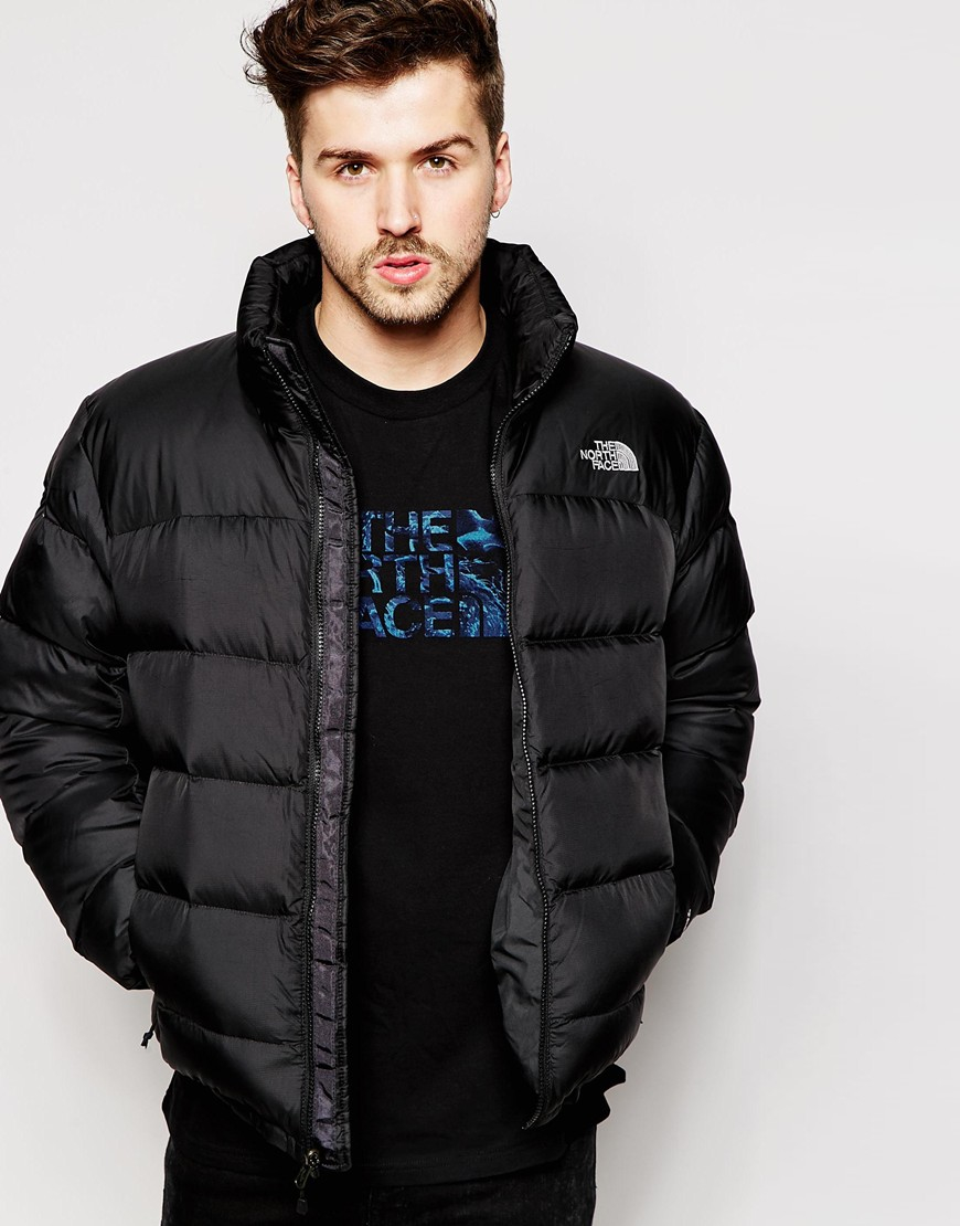 The north face Nupste 2 Down Jacket in Black for Men | Lyst