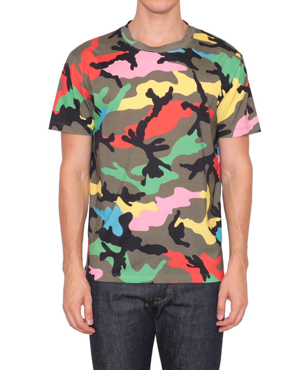 3a30ff83 Valentino Camo T Shirt Womens