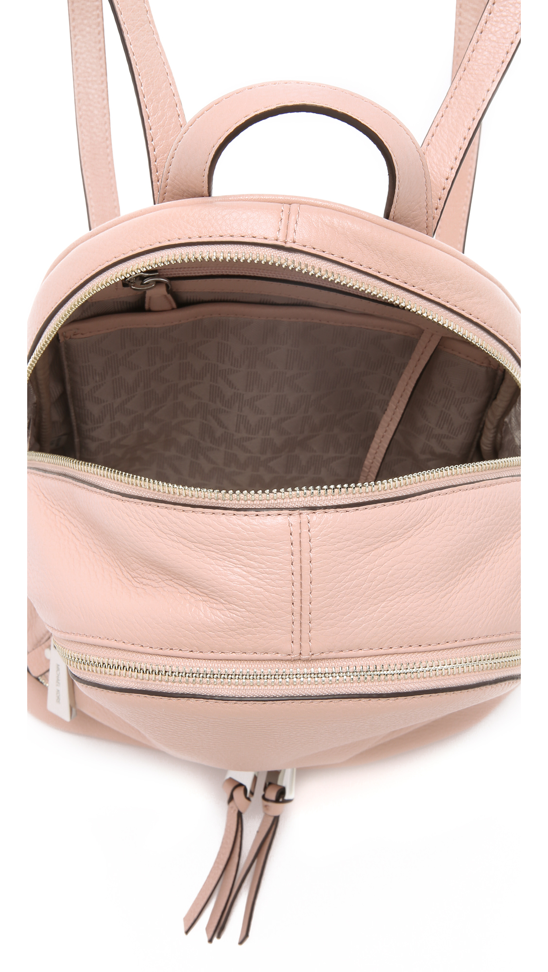 Michael michael kors Rhea Small Backpack - Ballet in Pink | Lyst