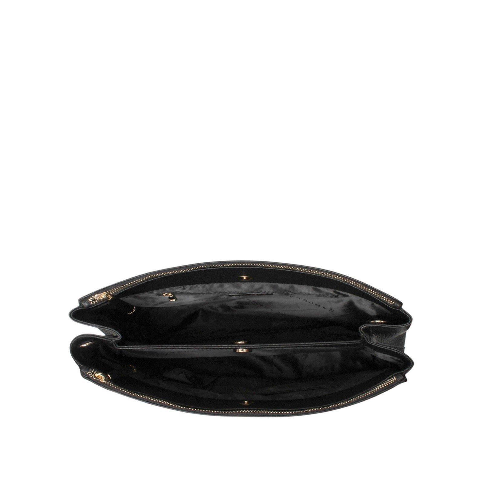 Carvela Kurt Geiger Cala Double Zip Tote in Black