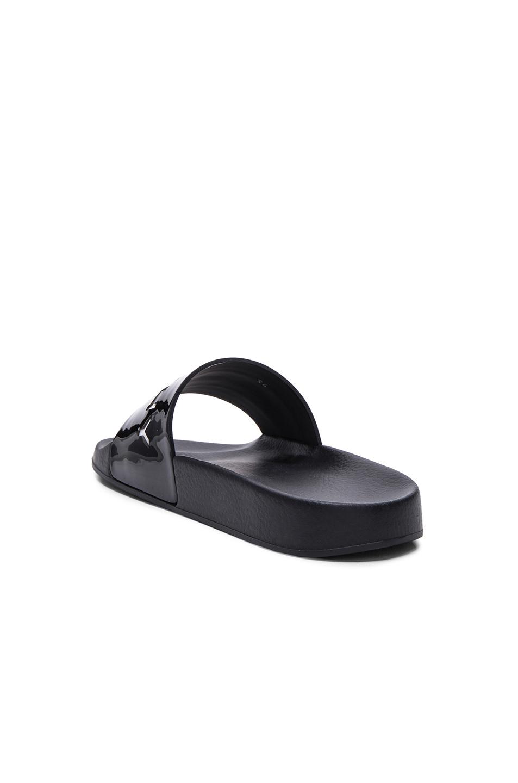 Coach Black Patent Leather Shoes