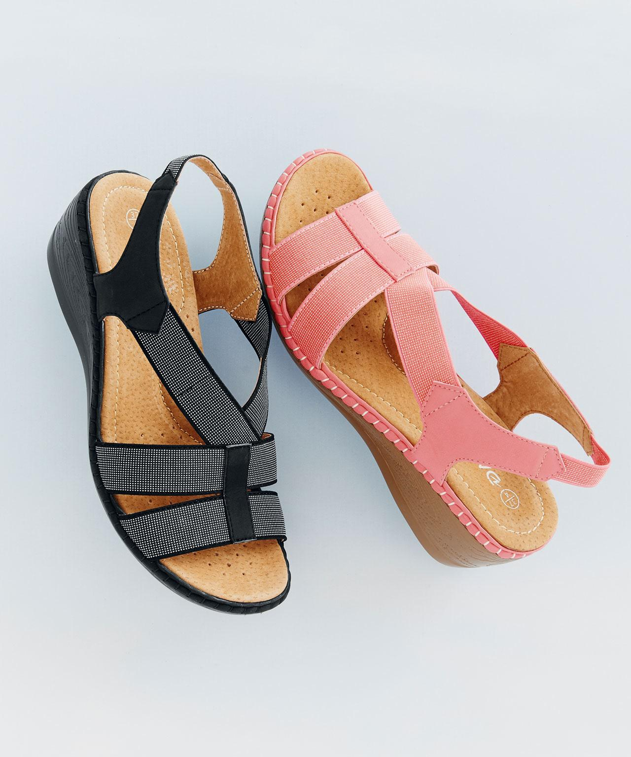 super cute order online cheapest price Elasticated Sandals