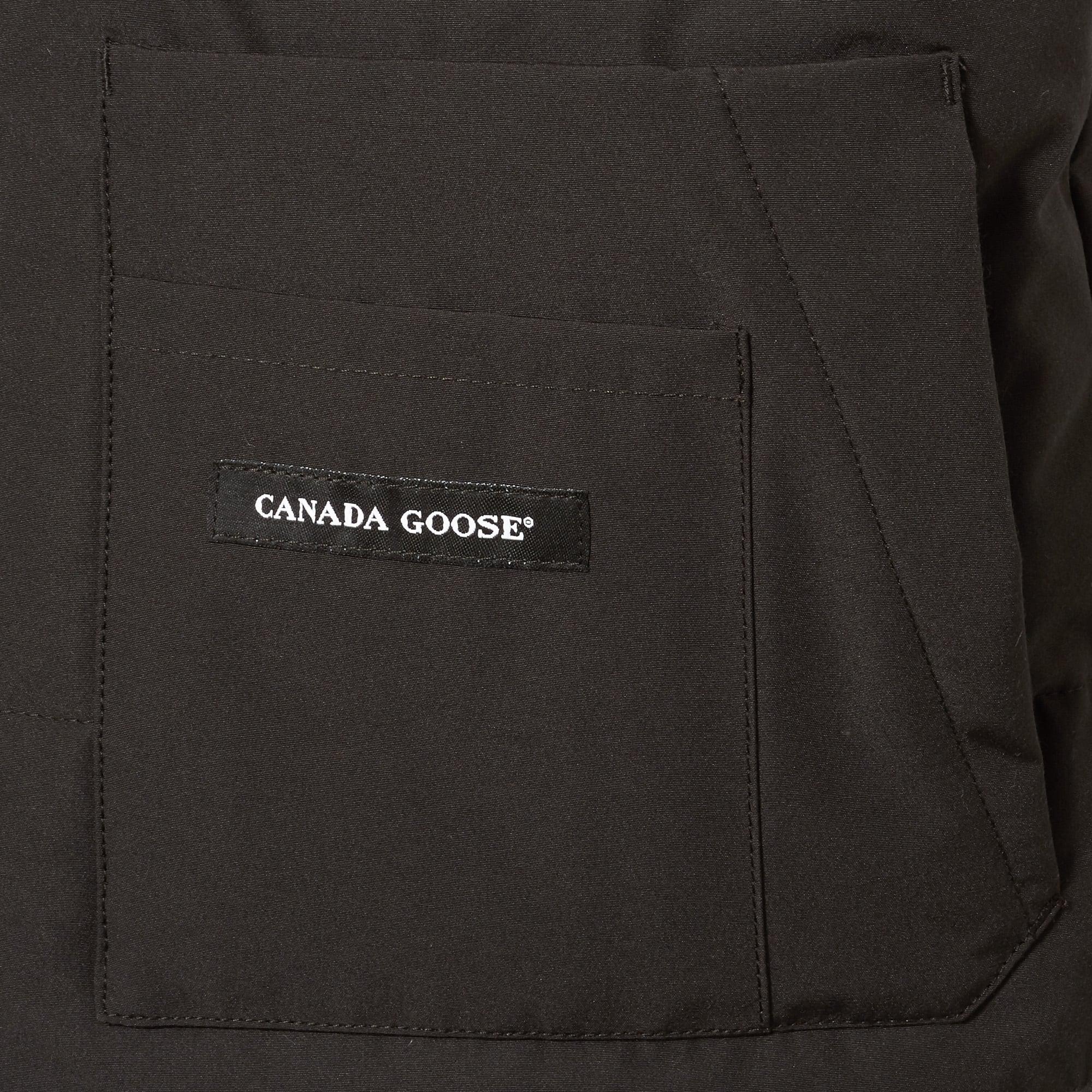 4217aaaf71 ... Canada Goose Black Freestyle Vest for Men Lyst. View Fullscreen