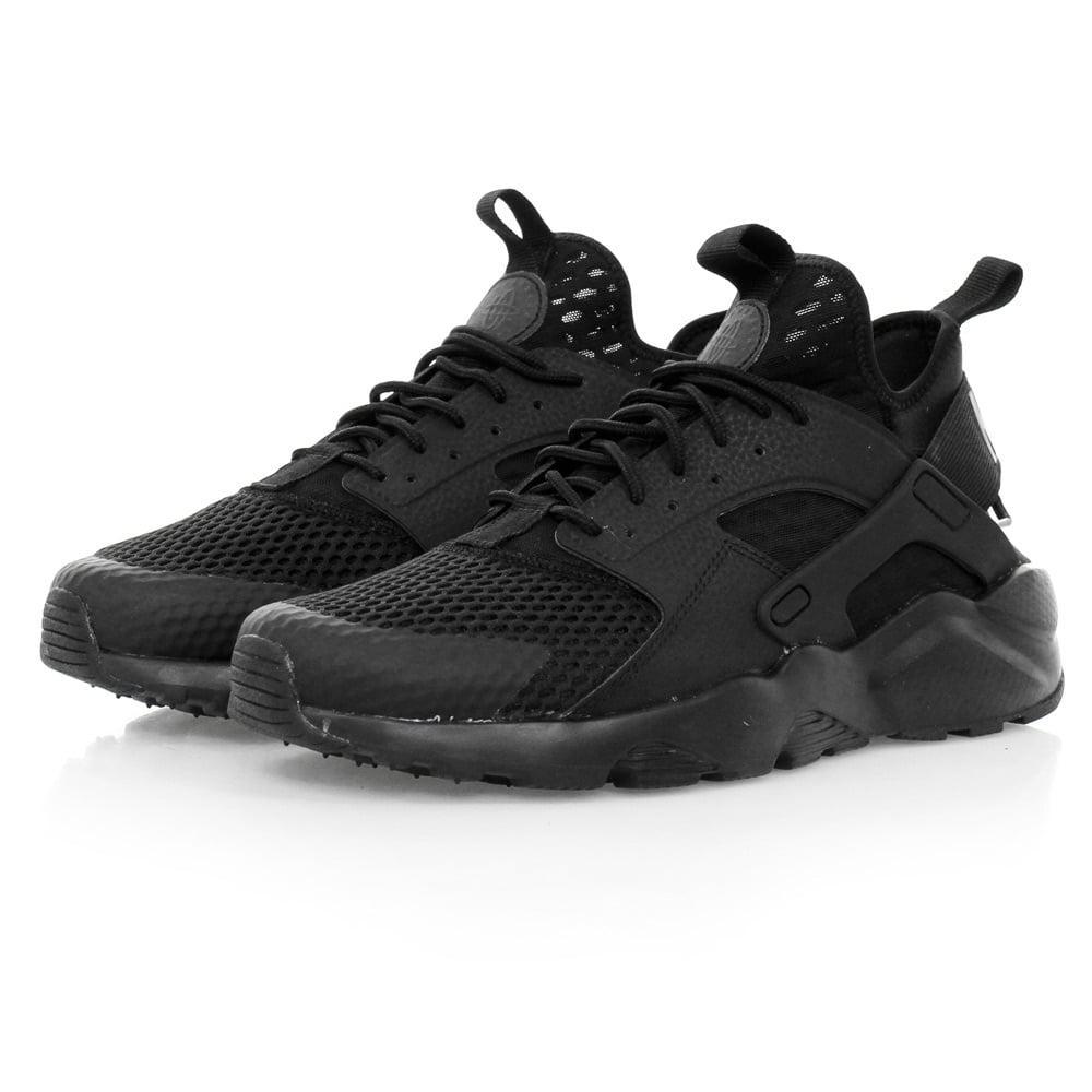 9c608cac4a7e Lyst - Nike Air Huarache Run Ultra Breathe Black Shoes 833147 in ...