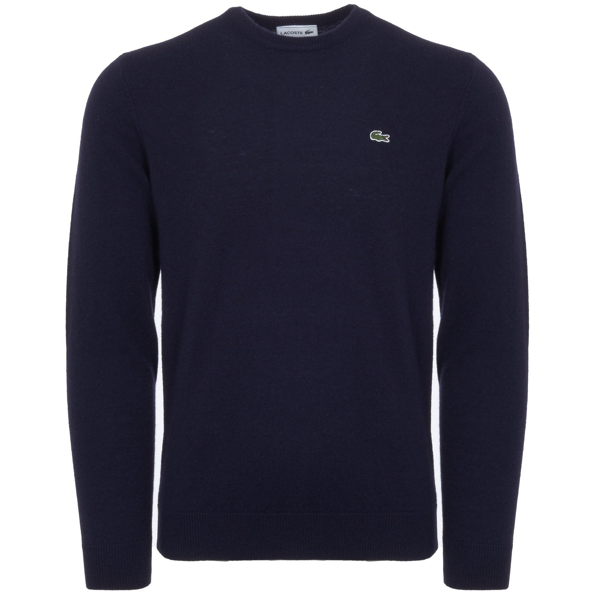 b12a9bb8c18eb Lacoste Crew Neck Jumper in Blue for Men - Lyst