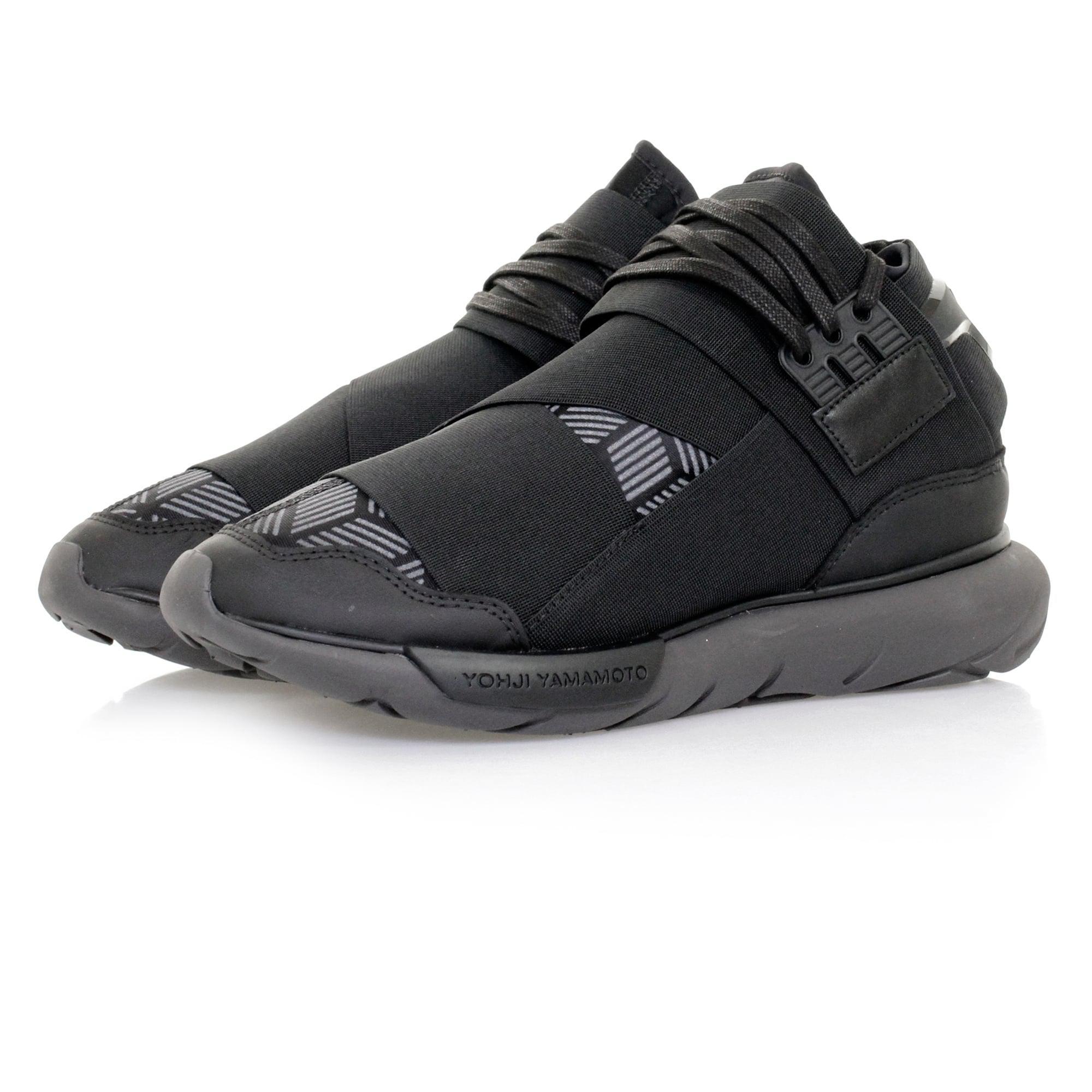 e5db529c2 Adidas Originals Y-3 Qasa High Cool Grey Men s Shoes