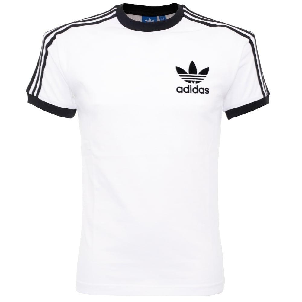 adidas originals california white t shirt az812 in white. Black Bedroom Furniture Sets. Home Design Ideas