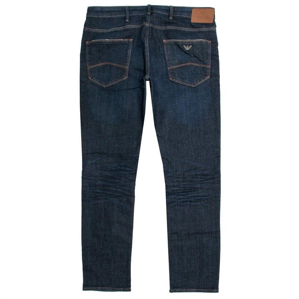 Armani jeans J06 Indigo Slim Fit Jeans 6X6J06 in Blue for ...