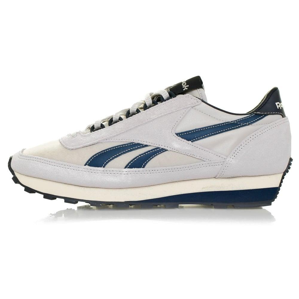 Reebok Suede Aztec Wl Grey Shoe Ar0210 in Grey for Men