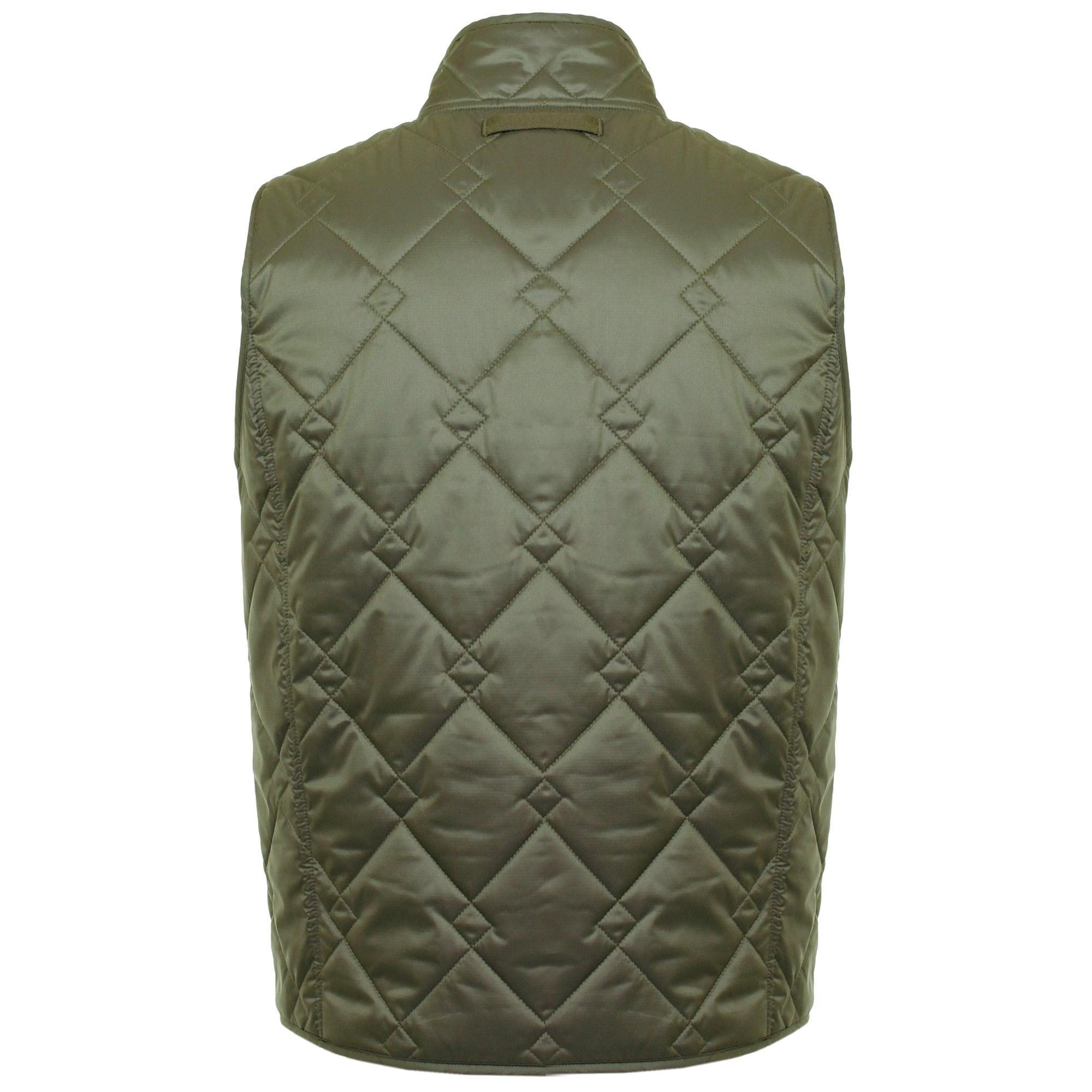 Baracuta Synthetic Shoreditch Modular Military Green Vest 02Brmow0120Frp01 for Men