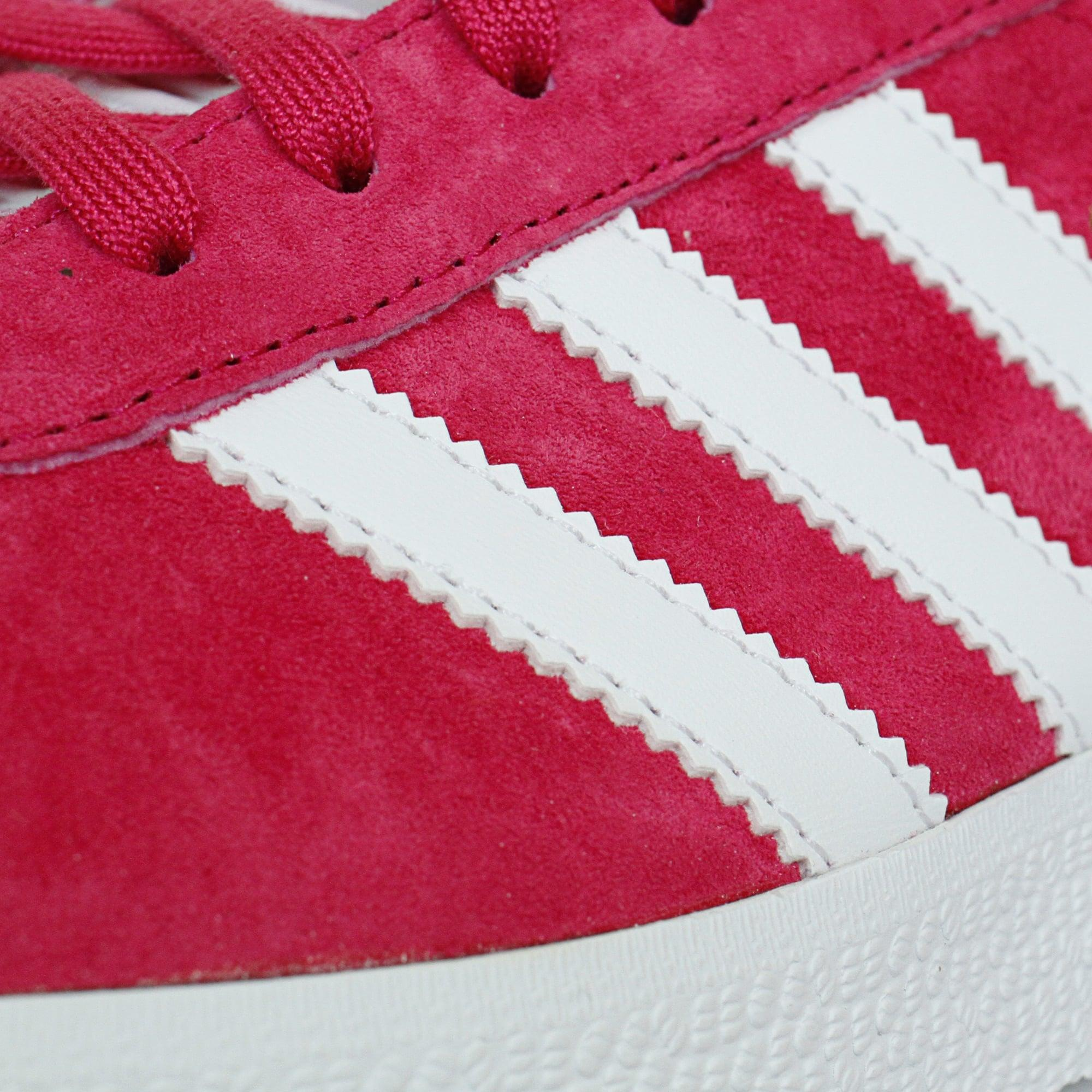 adidas Originals Leather Gazelle Pink White Shoe Bb5483 for Men